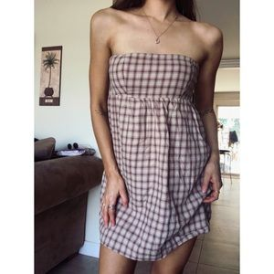 Heritage 1981 summer country strapless mini dress